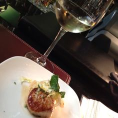 Michelle is very very good to me at Black and Blue...scallops are my fav!