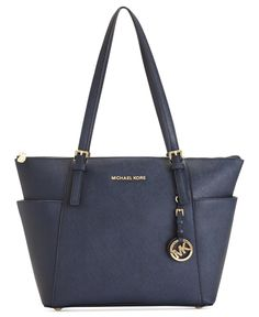 MICHAEL Michael Kors Jet Set East West Top Zip Tote - MICHAEL Michael Kors - Handbags & Accessories - Macy's