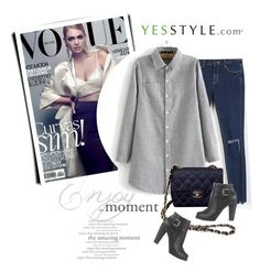 """YESSTYLE.com"" by monmondefou ❤ liked on Polyvore featuring Envy Look, Chicsense, Chanel, Oznara and yesstyle"
