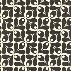Colours : Orla Kiely Small Acorn Cup Wallpaper | | The Decorating Shop: Online Wallpaper Store