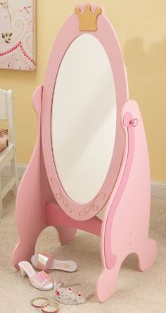 Kidkraft Princess Cheval Mirror By KidKraft Amazon
