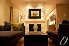 Fireplace Designed by Studio Interior Design Consultants Living Spaces, Living Room, Custom Built Homes, Fireplace Design, Home Photo, Design Consultant, House Plans, Modern Design, New Homes