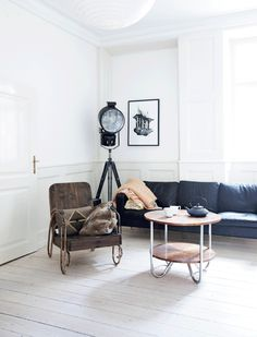 retro metal chair