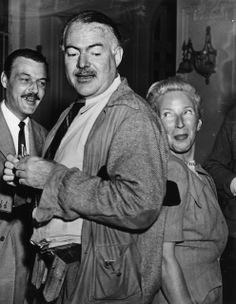 """Judging from this photo, it seems safe to say that Hemingway's claim to the """"worst-dressed man"""" title should have never been disputed in the first place. 