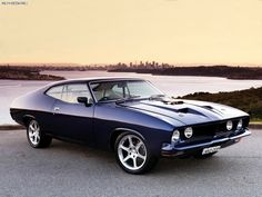 ford falcon classic cars aussie muscle car
