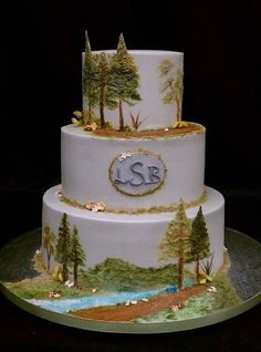 This Week Is National Park So I Decided To Round Up 10 Sweet Nature Cakes That Would Make Le