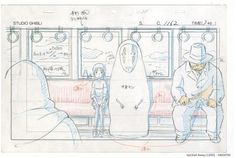 Spirited Away Studio Ghibli Layout Designs
