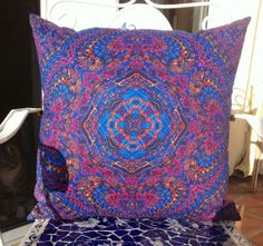 BOHO Bohemian MANDALA Designer Hippy Groovy CHIC Throw Pillow Cover, Limited Release #mandala