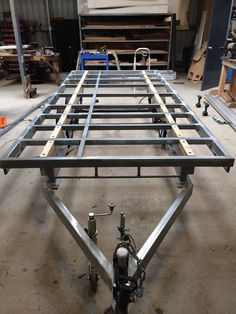 Three Trailers in One - Box, Car and Flat Top. The Box Top Trailer. - All