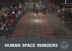 Human Space Invaders: Youth Group Games | Stuff You Can Use