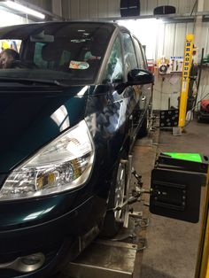 Renault Espace check & adjustment Wheel Alignment, Edinburgh, Centre, 3d, Vehicles, Check, Car, Vehicle, Tools