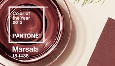 feature wall over fireplace - OR in accents?  Pantone's 2015 Color of the Year Is Warm, Comforting Booze