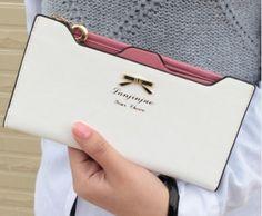 Krásná dámská peněženka bílá – dámské peněženky Na tento produkt se  vztahuje nejen zajímavá sleva 432b5f2f6d