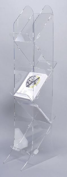 Displays range of Floor Standing Brochure Holders / Magazine Holders Magazine Display, Magazine Stand, Magazine Holders, Shop Display Stands, Pos Display, Display Design, Brochure Display, Brochure Holders, Trade Show Design