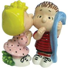 3.5 Inch Peanuts Sally Kissing Linus Salt and Pepper Shakers by WL. $22.99. This gorgeous 3.5 Inch Peanuts Sally Kissing Linus Salt and Pepper Shakers has the finest details and highest quality you will find anywhere! 3.5 Inch Peanuts Sally Kissing Linus Salt and Pepper Shakers is truly remarkable.3.5 Inch Peanuts Sally Kissing Linus Salt and Pepper Shakers Details:Condition: Brand NewItem SKU: SS-WL-18280Dimensions: H: 3.5 (Inches)Crafted with: Ceramic. Save 41% Off!