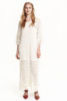 Lace-knit dress | H&M