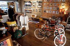 A loja de bicicletas, Tag and Juice, na Vila Madalena, zona oeste de SP