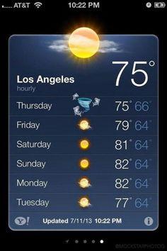 HAHA SHARKNADO!!~ I remember that if I ever take a trip to LA.