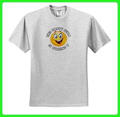 Carsten Reisinger - Illustrations - Fun Birthday This Happy Fella is turning 7 Party Celebration - T-Shirts - Adult Birch-Gray-T-Shirt Medium (ts_261535_19) - Birthday shirts (*Amazon Partner-Link)