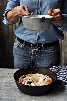 Triple Berry Yeasted Cinnamon Swirl Bread // King Arthur Flour + Joy the Baker by joy the baker