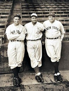"Gehrig, Foxx & Ruth  Focus on the Hall of Fame: ""Double X"" Jimmie Foxx is unquestionably one of the great sluggers in major league history. His glory years were with the Philadelphia Athletics (1925-1936) and the Red Sox (1936-1942), but he also played for the Cubs (1942, 1944), and Phillies (1945). Over his 20-year career, Foxx hit .325, with 2646 hits, 1751 runs, 158 doubles, 125 triples, 534 home runs, 1922 RBIs, .428 on-base percentage, .609 slugging average, and 4956 total bases."