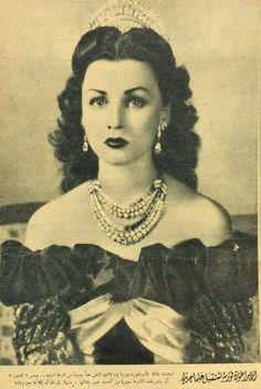 Princess Fawzia of Egypt Fawzia Fuad Of Egypt, Egyptian Kings, Native Indian, Divine Feminine, Famous Women, Old Photos, Iran, Blessings, Queens