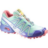 Salomon Womens Speedcross 3 Green Shoes - SS15