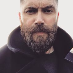 Beard And Mustache Styles, Best Beard Styles, Beard No Mustache, Hair And Beard Styles, Short Beard Styles, Bald Men With Beards, Bald With Beard, Beards And Hair, Short Hair With Beard