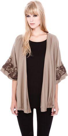 Brown Kimono