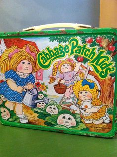 Vintage Lunchbox Cabbage Patch Kids 1983 Original by VintagebyJen, $12.00
