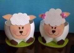 Deixe sua Páscoa mais divertida oferecendo lembrancinhas de ovelhinhas (Foto: Divulgação)