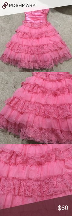 PINK PROM DRESS Never been worn!! Steppin' Out Dresses Prom