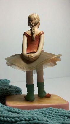 Degas-inspired Dancer by Clayver, via Flickr