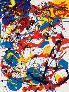 Sam Francis ... Freedom of speech in Art