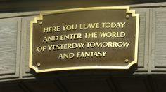 Plaque at Disneyland  https://www.facebook.com/dirigibledays?ref=hl_t=page