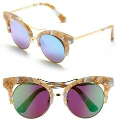 GENTLE MONSTER 52mm Retro Sunglasses