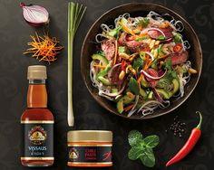 Beef & Noodle Salad - Vietnamese salade recept