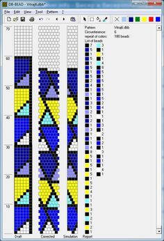 BeadedCrochet_GeometricSchemes - Mariam Nahapetyan 6 around