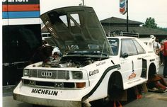 Olympus Rally 1985 Hannu Mikkola. #rally #rallye #audi #sportquattro #audisport #motorsport #sport #followme #car #1985 #sportquattros1