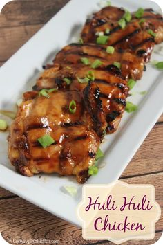 Huli Huli aloha Chicken - one of my all time favorite Polynesian dishes. For a taste of Hawaii, fire up the grill and make this chicken - all you will need is a mai tai to go with. Turkey Recipes, Chicken Recipes, Hawaiian Dishes, Hawaiian Recipes, Hawaii Food Recipes, Tai Food Recipes, Hawaiian Luau, Huli Huli Chicken, Barbecue