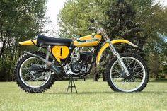 1973 Suzuki RN73 Roger DeCoster 1973 500 World Champion