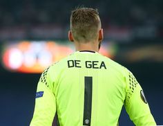 David De Gea of Manchester United looks on during the UEFA Europa League Group A…