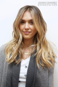 JESSICA ALBA'S RAMIREZ TRAN TRANSFORMATION! Hair Color by Johnny Ramirez • IG: @johnnyramirez1 • Appointment inquiries please call Ramirez Tran Salon in Beverly Hills at 310.724.8167. #hair #besthair#beachhair #johnnyramirez#highlights#model#ramireztransalon#sunkissedhighlights #bestsalon#beauty #lahair#brunette#blonde #highlights #caramel#salon #blondehair #beachyhair#beautifulhair#ramireztran#ramireztransalon#johnnyramirez #sexyhair