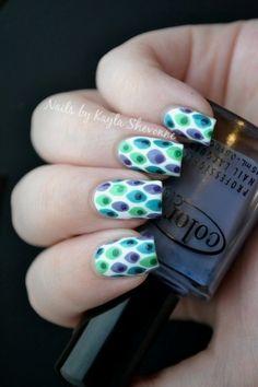Nails by Kayla Shevonne: 31 Day Challenge - Day 26: Inspired by a Pattern