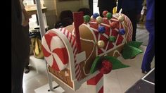 gingerbread house mailbox