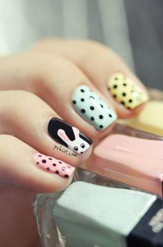 Beauty Blog : Easter pastel nail art | Pshiiit on Spritzi.com