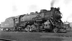 L&N RR 2-8-2 locomotive  #1833.