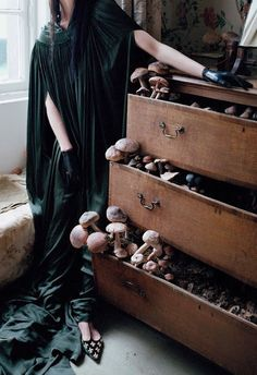 """Wizard"" by Tim Walker for Love #12 Fall/Winter 2014"