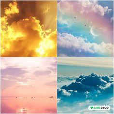 Beautifull sky Beautiful Scenery, Pinterest Board, Collage, Clouds, Sky, Deco, World, Outdoor, Beauty