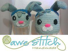 Octonauts TWEAK BUNNY - Rosey Bunny - Crochet Hat Pattern  $3.99 on Ravelry